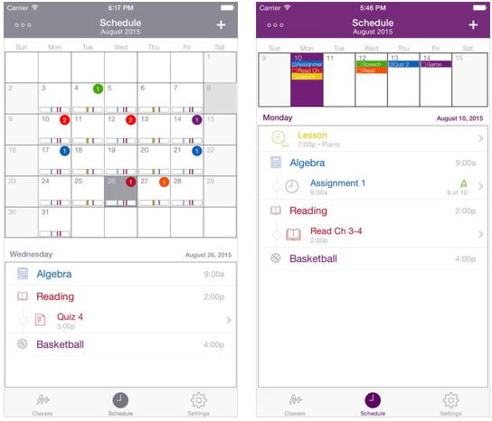 Student Planner – The Dog Ate It – School Homework Tracker
